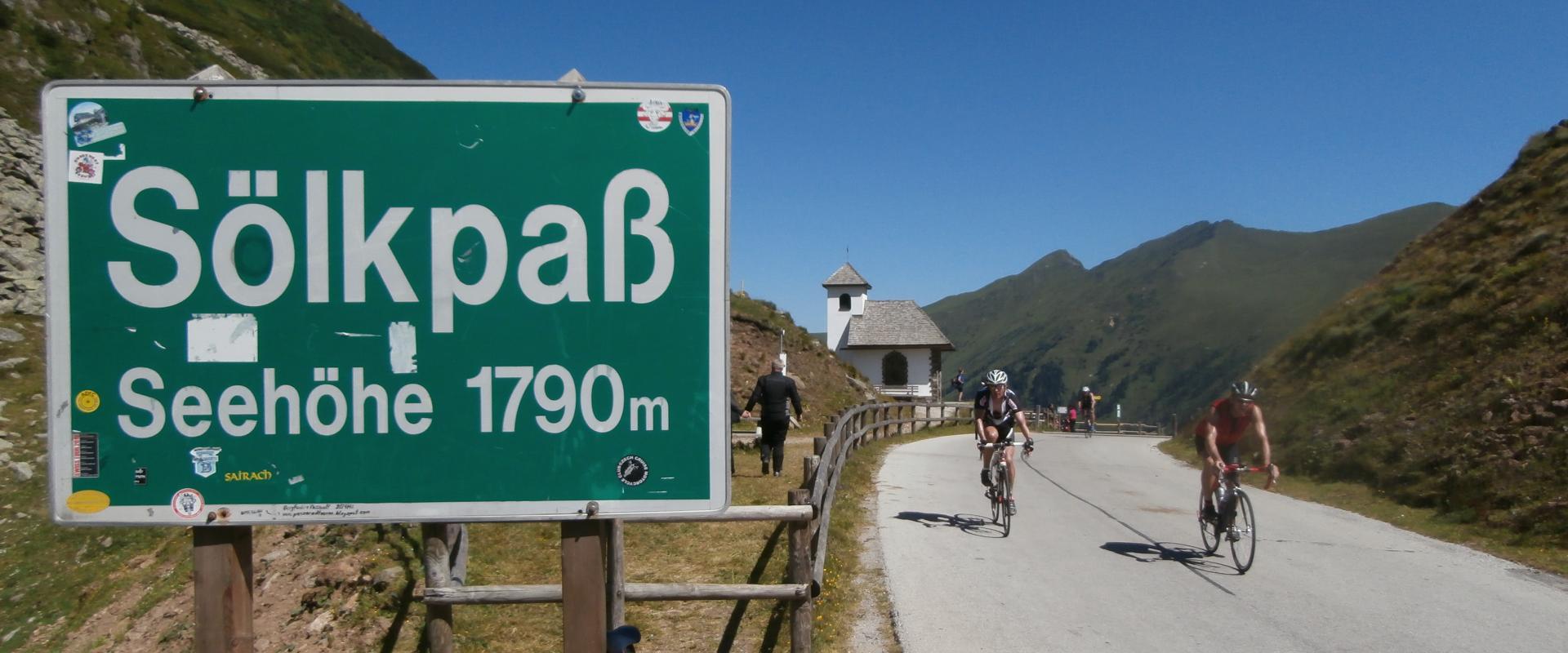 Rennradreise Alpencross Sölkpass