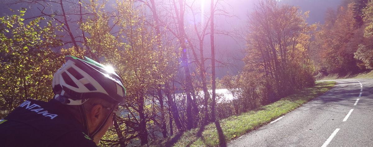 Rennrad Wochenende Jura Oktober
