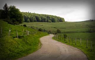 Rennradreise Vogesen, Frankreich