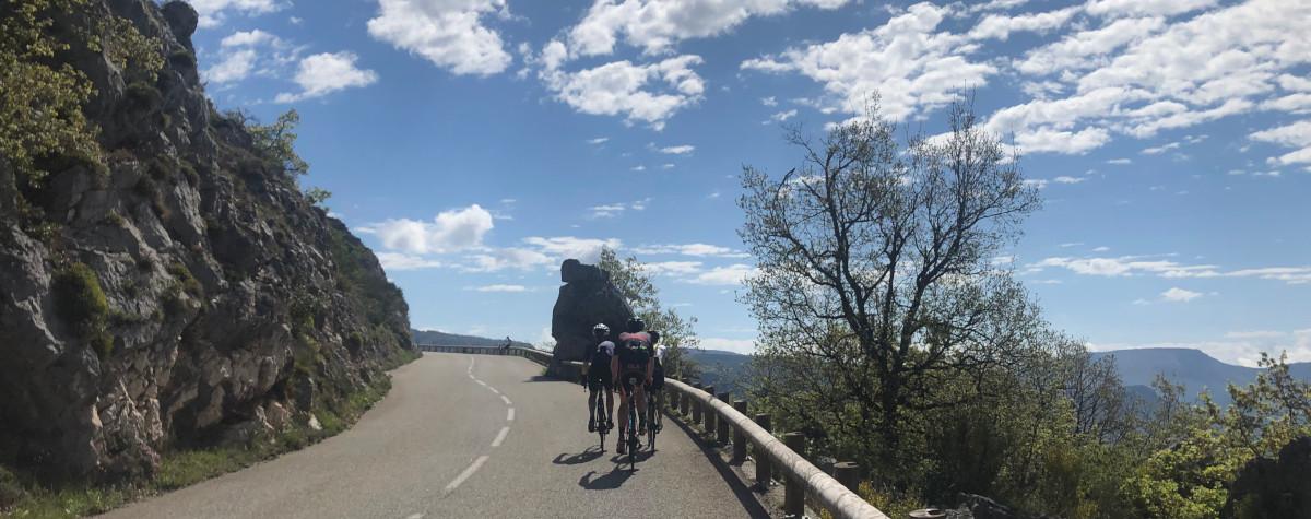 Rennrad Trainingslager und Urlaub an der Côte d'Azur 2019